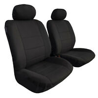 Waterproof Poly Canvas Seat Covers Front Pair Promotion Pack