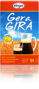 9 Liters of Kvass, 100% Natural, Bread drink, Set for making at home