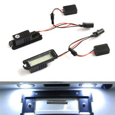LED License Number Plate Light For SEAT Ibiza 6J Leon 1P Altea Exeo Skoda Superb