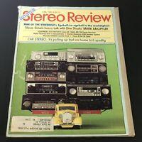 VTG Stereo Review Music Magazine June 1980 - Steve Simels with Mark Knopfler