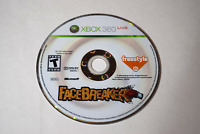 FaceBreaker Microsoft Xbox 360 Video Game Disc Only