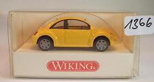 Wiking 1/87 n. 035 07 24 VW VOLKSWAGEN NEW BEETLE LIMOUSINE ARANCIONE GIALLO ovp#1366