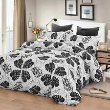 Palm Leaf Quilt/Duvet Cover Set Queen Size Bedding Linen Pillow Case Doona Cover