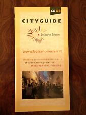 Cityguide Bolzano Italiano English Deutsch guida turistica shopping gastronomia