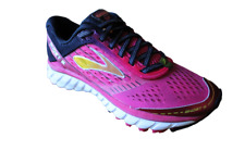Brooks Women's Ghost 9 Athletic Running Shoes Sneakers Pink/Black Size 6.5 B