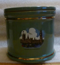 Denby Manor Green Stilton jar and lid