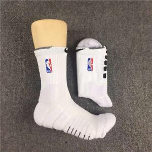 Nike NBA Elite Quick Socks  - White - Mid Length