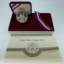 1984-S Olympic Proof Silver Dollar - Free Shipping USA