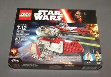 Star Wars LEGO Obi Wan's Jedi Interceptor Set 75135 w R4-P17 NEW Sealed