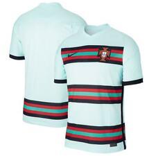 Time De Portugal National Euros Europeu Futebol Camisa Réplica fora 2020/21 - azul-petróleo