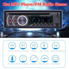 1 Din Bluetooth Car CD Audio MP3 Player Stereo FM Radio Receiver USB AUX TF-card