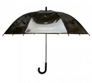 Undercover JAPAN Jun Takahashi Logo Print Umbrella Black