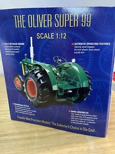 The Franklin Mint 1:12 The Oliver Super 99 Tractor W/ Box