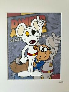 Danger Mouse - Idea 2 - Cosgrove Hall - Hand Drawn & Hand Painted Cel