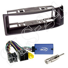 JVC VOLANTE Interface + RENAULT MEGANE SCENIC senza pannello radio mascherina nero a partire dal 2000