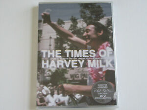 THE TIMES OF HARVEY MILK (DVD, Criterion Collection) Robert Epstein SIGNATURE!!!