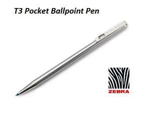 Zebra Techo T3 Mini Ballpoint Pen 0.7mm BLUE Ink