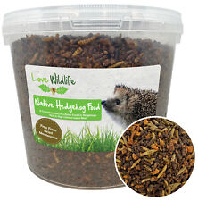 More details for wild hedgehog food crumble 5ltr bucket | insect meal, wildlife, no mealworms
