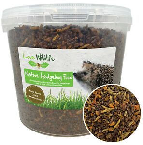 Wild Hedgehog Food Crumble 5ltr Bucket | Insect Meal, Wildlife, NO MEALWORMS