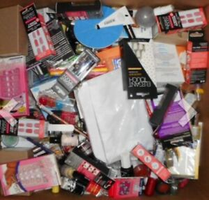 Make Up Lot Of 50 Items,  All New !! Loreal Broadway And More! Nail Lip Mask Mor
