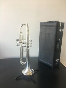 NEW SCHILKE B-5 TRUMPET, FULL WARRANTY, IMPORT CASE.