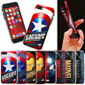 MARVEL Avengers Metal Color Jelly Case 2 for Apple iPhone XS Max/ XR XS X/ 8 7 6