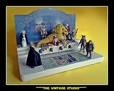 Vintage STAR WARS Kenner Custom Jabba the Hutt´s Throne Room Playset Diorama