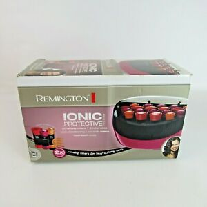 Remington Ionic Protective Hot Rollers Model H-5600 Pageant Curlers 20 Velvet