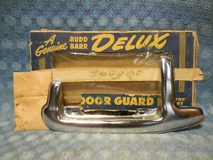 1950 Ford Passenger NORS Deluxe Gas / Fuel Door Guard