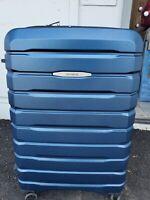 "Samsonite TECH TWO 2.0 2-Piece Hardside 27"" & 21""  Travel Luggage Set, Blue"
