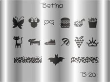 Plaque stamping BETINA B20