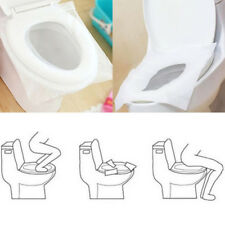 50 Pcs Hygienic Toilet Paper Seat Covers Disposable Protector Travel Work Train