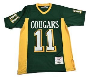 Headgear Authentics Mens Russell Wilson Collegiate School Cougars Jersey New 4XL