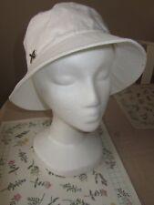 New Betmar Basics White Bucket Hat New York