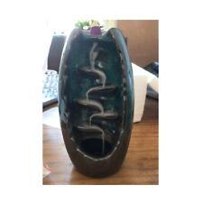 Mountain River Handicraft Incense Holder Back Flow Ceramic Burner Holder Censer