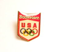 Older Olympic sponsorship/ advertising pin for Budweiser Beer