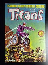 Titans N°33 TBE Lug Comics Semic Marvel