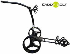 Litio caddy-golf concede Elektro trolley negro mate Timer Memory 350w motor