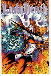 LADY DEATH (CHAOS) #3 1994 NICE HEADLIGHTS COVER FN/VFN!