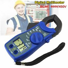 Mini Dcac Earth Current Clamp Meter Tester Mt 87 Multimeter Voltage Ammeter