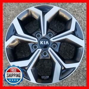 "KIA FORTE 2019 2020 Factory OEM Wheel 16"" Rim Silver 74779 w/ Cap #A"