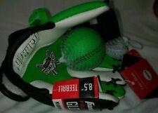 Franklin Air Tech Sports Kids Youth 8.5� Green White Baseball Glove Nwt