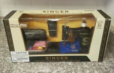 Home Play Singer Original Chainstitch Sewing Machine Toy Age 6+ Black *WORN BOX*