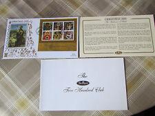 Joyeux noël 2005 shepherd de jérusalem benham gold 500 club fdc/cover