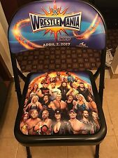 WRESTLEMANIA 33 COMMEMORATIVE WWE CHAIR RINGSIDE LAST ONE