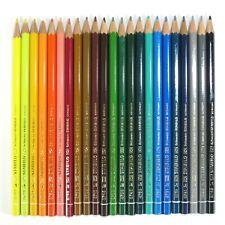Rare Old Vintage Schwan Stabilo 87Xx Series Color Pencils Lot Set 23 Unique Hues