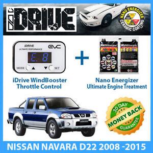 IDRIVE THROTTLE CONTROL for NISSAN NAVARA D22 2008 -2015 + NANO ENERGIZER AIO