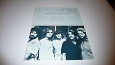 The Eagles Hotel California Original Uk 1976 Sheet Music Missing Inside Page