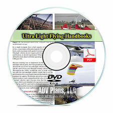 Ultralight Aircraft Flying Handbook, Weight Shift Control Paragliding CD F46