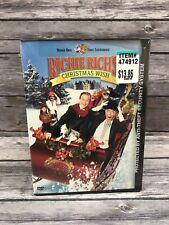 Richie Rich's Christmas Wish DVD 2002 Snapcase 1998 Kids Holiday Film NEW
